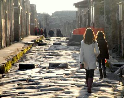 The girls in Pompei