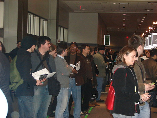 Registration Line at SXSW Interactive