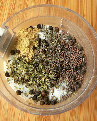 Spices for shepherd's pie sausage