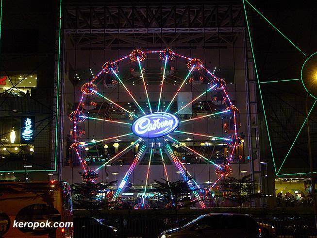 Cadbury Ferris Wheel