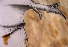 No_soy de_fierro     /  Soy_de_palo_carne_agua (Felipe Smides) Tags: chile wood santiago portrait selfportrait color tree eye art me coffee café colors pencils paper fire ojo madera arte skin drawing lapiz colores sueños dreams árbol draw papel fuego autorretrato dibujos felipe dibujito lapices piel leña bocetos soñar artisticexpression instantfave i mywinners abigfave aplusphoto beatifulcapture colourartaward colorartaward artlegacy smides felipesmides dibujossmides