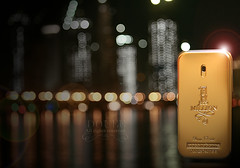 (Doue ) Tags: building men spectacular one 1 perfume nightshot sweet bokeh towers corniche million paco doha rabanne abigfave