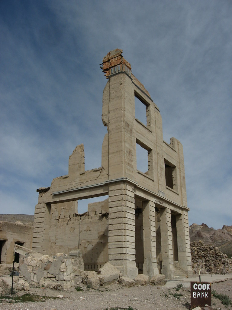 Ghost Town of Rhyolite, Nevada (13)