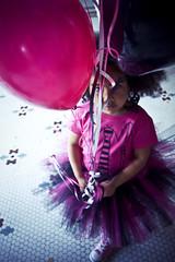 (morgan.laforge) Tags: pink black balloons converse littlegirl tutu