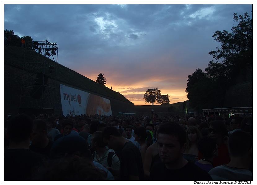 Sunrise @ Dance Arena