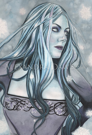 Lumi the Snow Queen by Alexandra Dawe