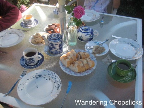 Afternoon Tea in the Garden with Portland from Glendora and Angel Face Roses 4