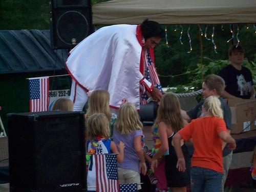 Elvis Greets His Adoring Fans
