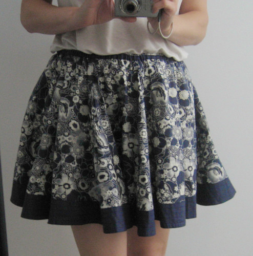 flouncy skirt (after)