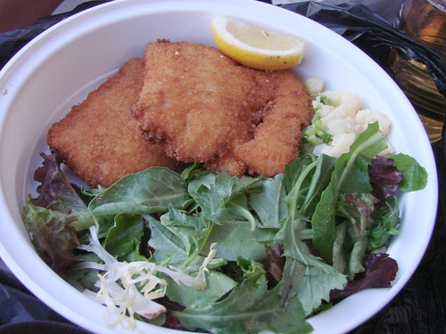 Cod Schnitzel from Schnitzel and Things