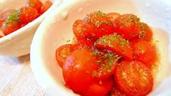 ミニトマトのシャーベットサラダ