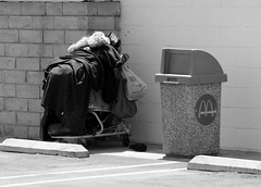 Mcdonals homeless