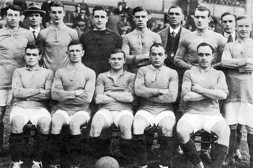 Manchester United 1919-1920 team photograph