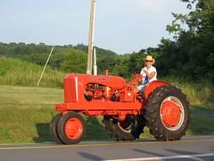 Tractor float