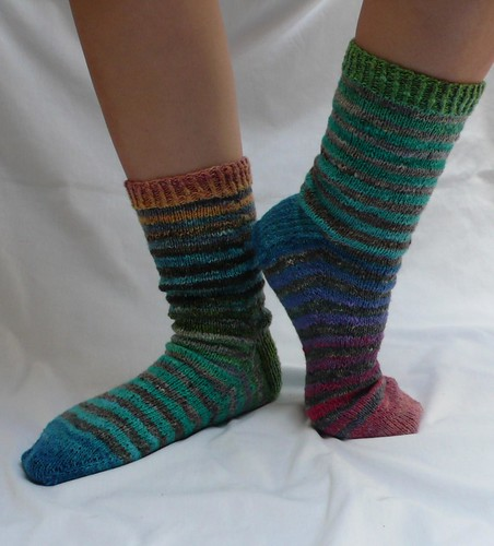Noro Stripey Socks