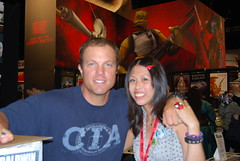 sdcc2009 / me with adam baldwin