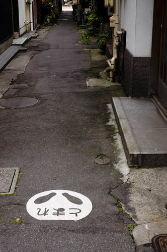 路地の光景