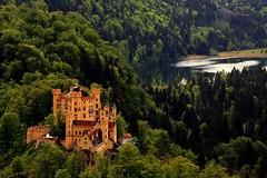 Hohenschwangau Castle 2 (Thunder3434) Tags: lake castle delete10 forest delete9 germany delete5 bavaria delete2 delete6 delete7 save3 delete8 delete3 delete delete4 save save2 save4 hohenschwangau mwc