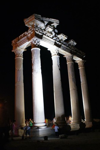 Temple Of Apollo Night