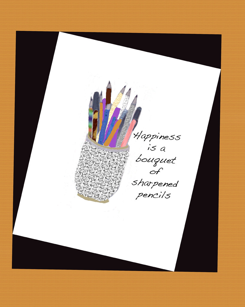 happiness-is-a-bouquet-of-sharpened-pencils