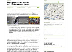 Urban Omnibus » Designers and Citizens as Critical Media Artists_1249599245670