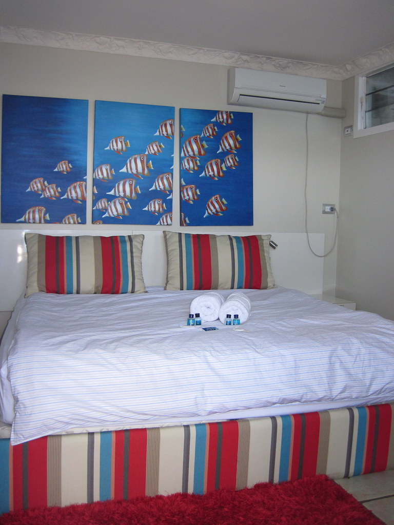 My bedroom at Reefworld