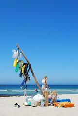Trash plastic (The North West Of Nowhere) Tags: wood blue sea sky praia beach azul trash mar bottle madera sand wave playa arena plastic cielo ceo area basura algae plastico madeira ola botella alga onda tensk
