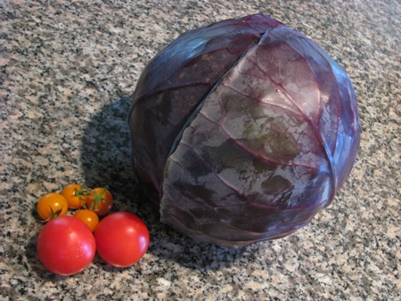 Farmer Bob's Red Cabbage & Tomatoes