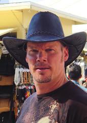 Geoffy (danimaniacs) Tags: hat goatee la losangeles mexican olverastreet