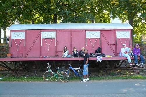 Waggon am Kulturgleis Offenbach 2009