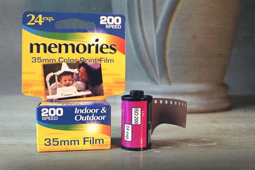"""""""Memories"""" Generic 35mm Color Print Film"""