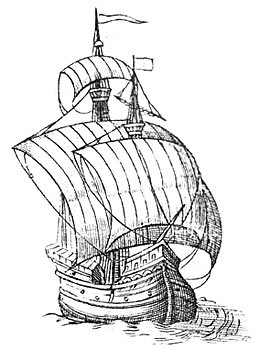 An Elizabethan ship of similar type
