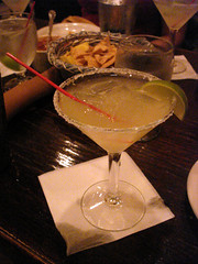Margarita at La Fonda
