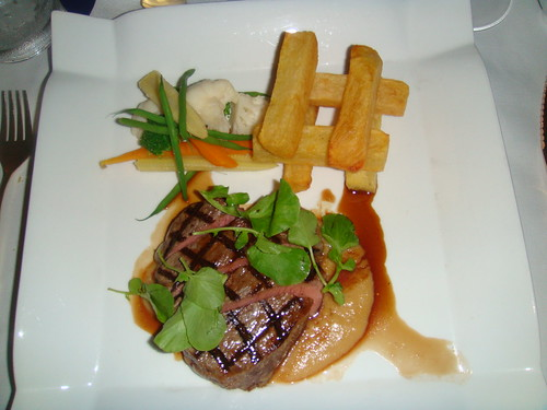 Entrecote de carne gallega con salsa bearnesa