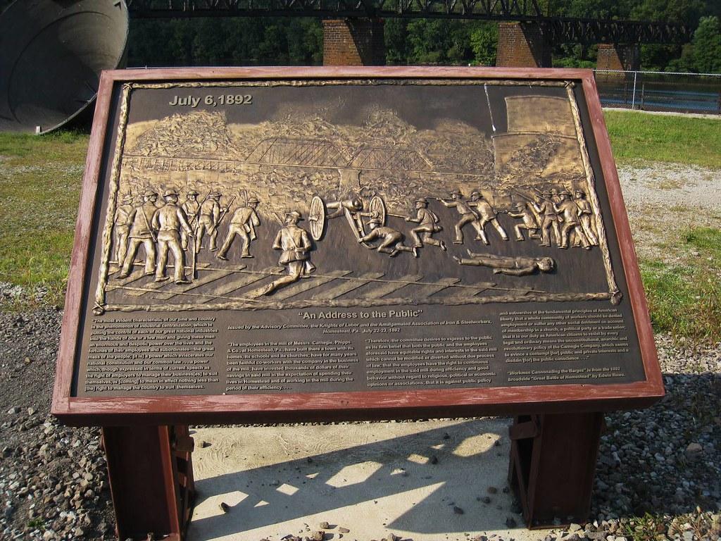 Homestead Strike - memorial