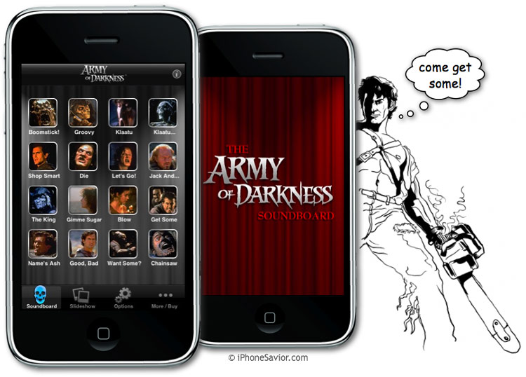 Army of Darkness iPhone App