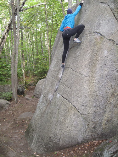 Click here to see more images from bouldering and the ride from Lake Placid to Canton, NY