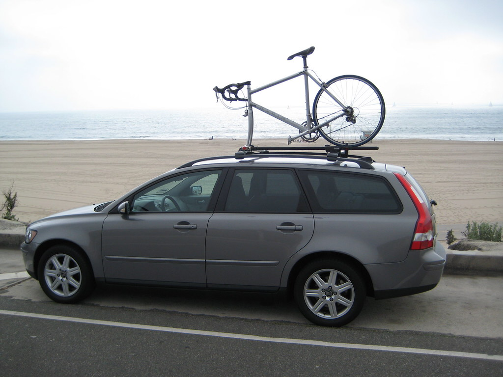 It Works Well And Keeps My Bike Sturdy On Top Of The Roof