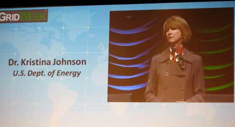 Dr. Kristina Johnson of the U.S. Department of Energy Industry