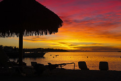 Intercontinental Moorea Sunset