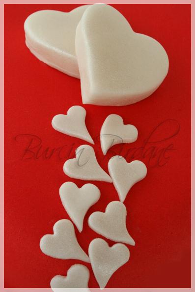 Kirmizi Kalp Pasta Kalp