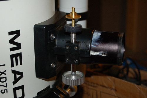 Focuser Project: Assembling the Gearing 2