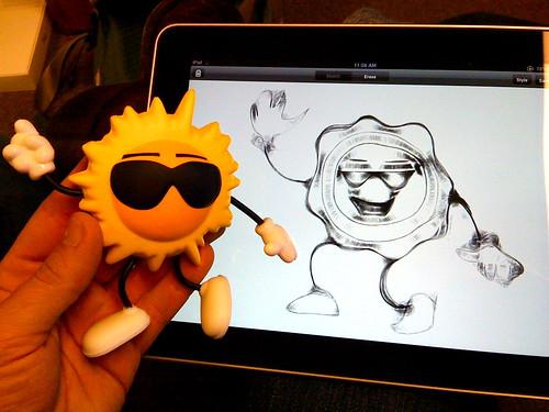 iPad sketches