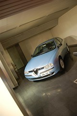 Alfa 156 (v6rev) Tags: auto italy car automobile italia milano alfa romeo museo storico machina arese