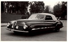 Alfa Romeo 2500S Cabriolet by Ghia, S.A. (aldenjewell) Tags: postcard alfaromeo 1949 ghia cabriolet 2500s