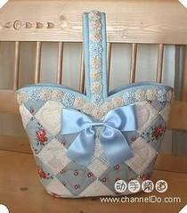 Bolsa romantica (arteira2009) Tags: fuxico seminole bolsa pap laço