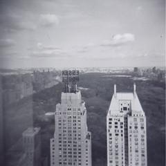 1 (McFaulStudio) Tags: nyc blackandwhite newyork buildings holga lomo lomography centralpark manhattan essexhouse mcfaul