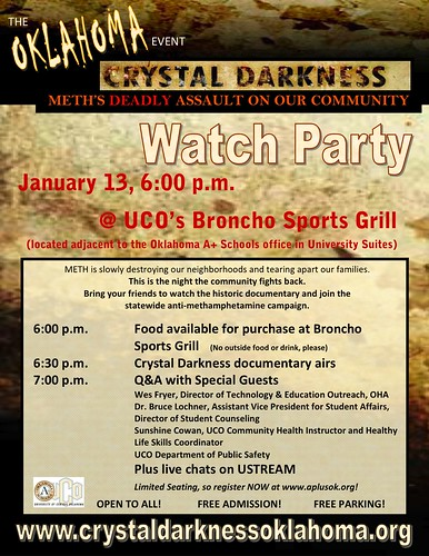 Oklahoma Crystal Darkness Watch Party at UCO