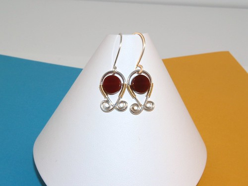 Sterling and carnelian 2