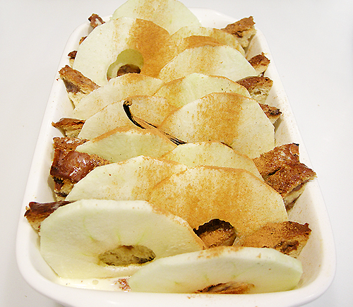 蘋果麵包布丁派-090114